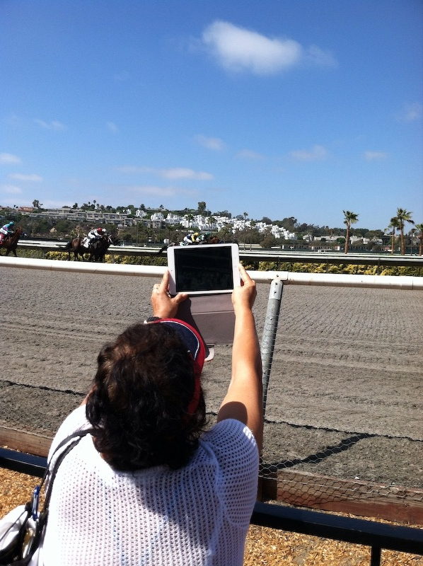 At The Del Mar Horse Races