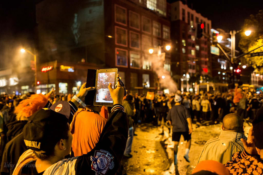 giant fans rioting ipad is not a camera