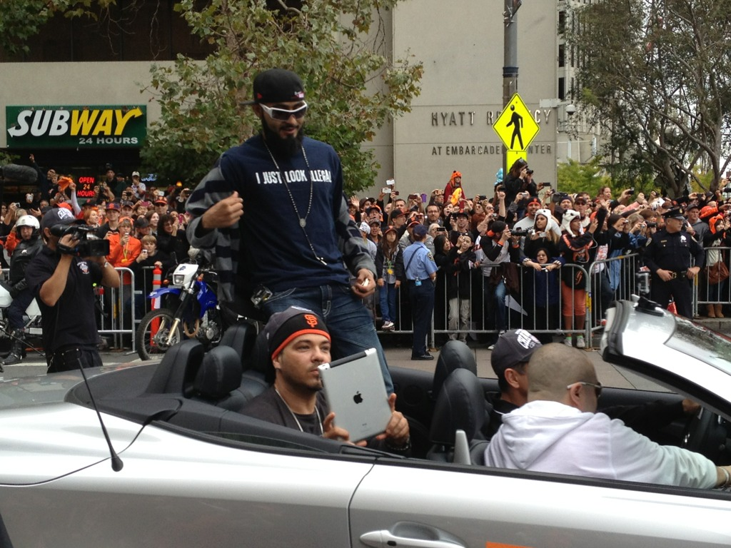 sergio romo ipad is not a camera